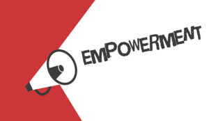 A picture of an empowerment megaphone