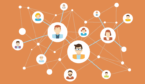 A picture of a network of people
