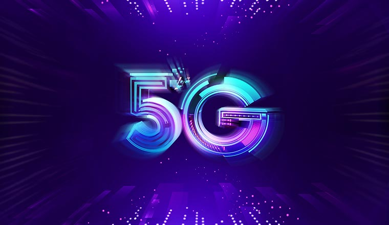 A picture containing the letter 5G
