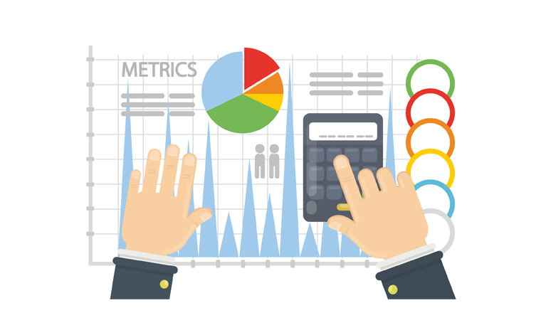 A picture of graphs to display metrics metrics