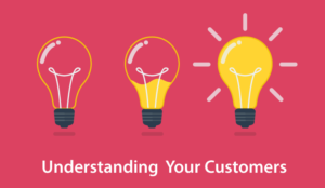 A picture of the concept of understanding your customers