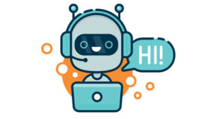 A picture of a chat bot
