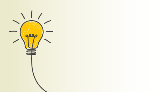 A picture of a light bulb and the innovation concept
