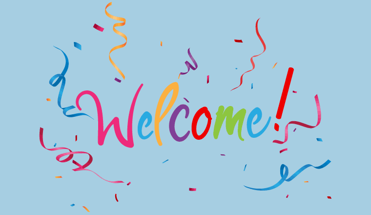 A picture of a welcome sign