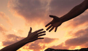 A picture of a helping hand