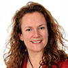 A headshot of Leigh Hopwood