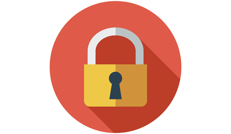 A picture of a padlock