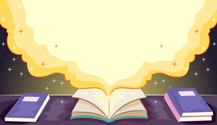 A picture of a storybook