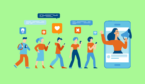 A picture of the digital customer engagement concept