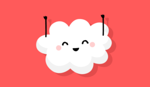 A picture of a jubilant cloud
