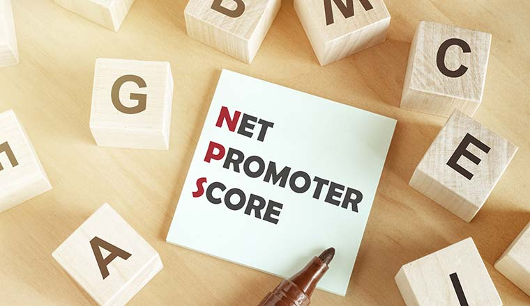 "A picture of a note saying ""Net Promoter Score"""