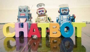 A picture of a group of chatbots