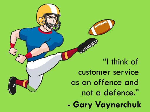 A picture of a Gary Vaynerchuk quote
