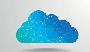 A picture of a digital cloud