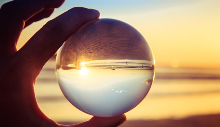 A picture of a crystal ball