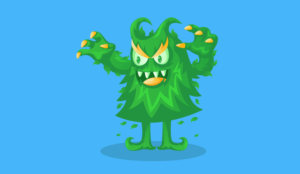 A picture of a troll