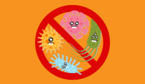 A picture preventing microbes