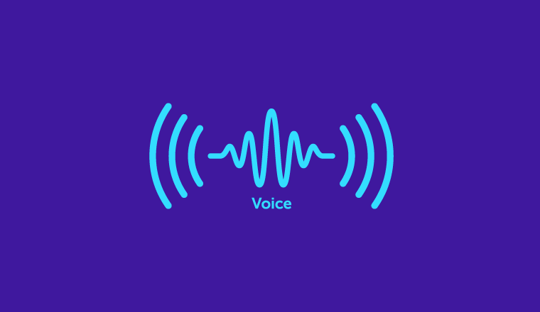A picture of a voice wave