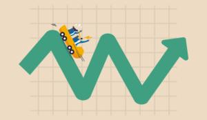 A picture of a volatile graph