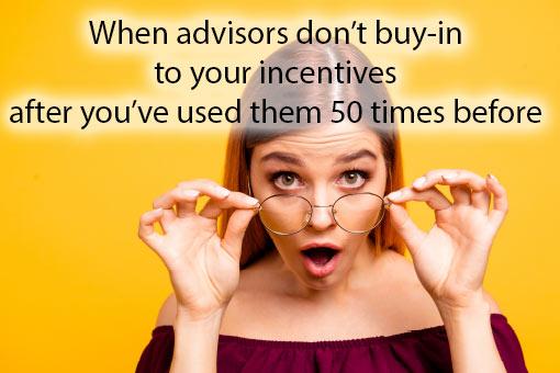 call centre meme about incentives