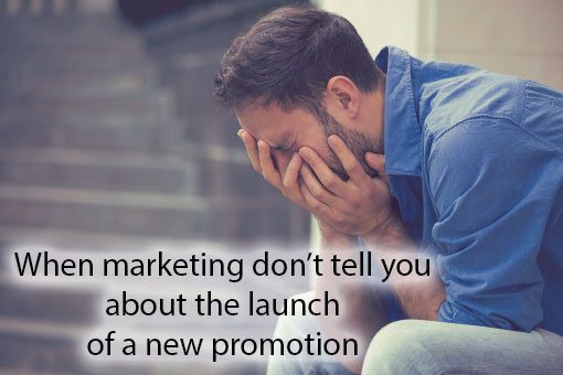 call centre meme about marketing