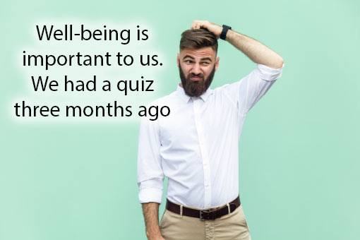 call centre meme about employee well-being