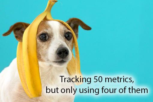 call centre meme about metrics