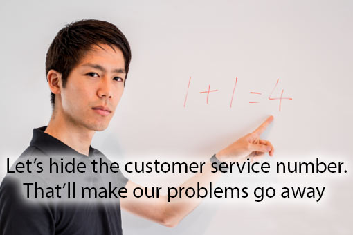 call centre meme about customer service