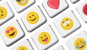 Emojis on keyboard buttons