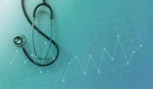 S stethoscope with digital point graph