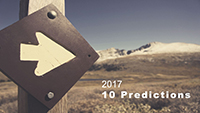 Webinar Slides: 10 Predictions for 2017 by Martin Hill-Wilson and Tim Pickard,
