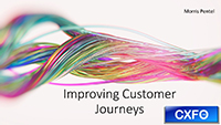 Moris Pentel webinar slides on improving customer journeys